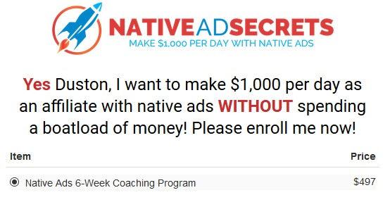 Native Ads Academy by Duston McGroarty(Oct 2018 UP)