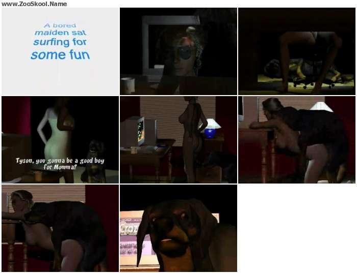 a5858f1235133314 - Dog Girl Mount 013 - Zoo Tube Video