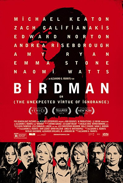 Birdman 2014 720p BluRay H264 AAC-RARBG