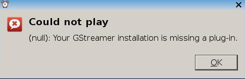 GStreamer Error in the Alarm Clock