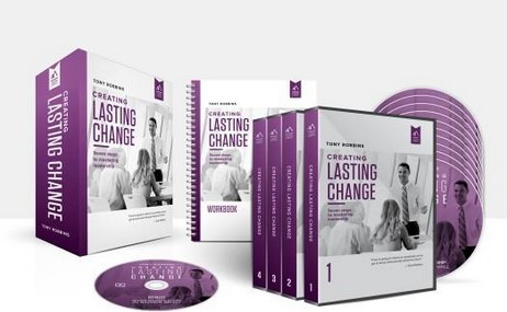Creating Lasting Change, Learn to Create an Impact - Tony Robbins