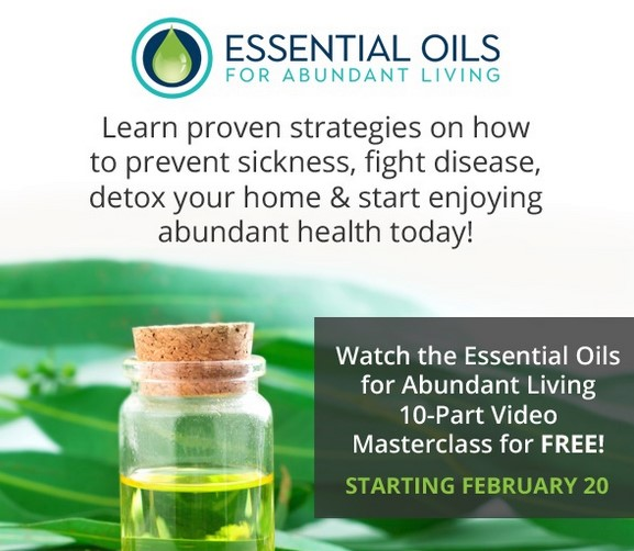 The 2018 Essential Oils Masterclass 2018