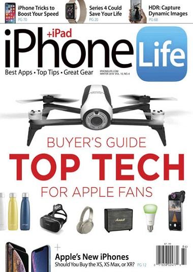 iPhone Life Magazine – Winter 2018