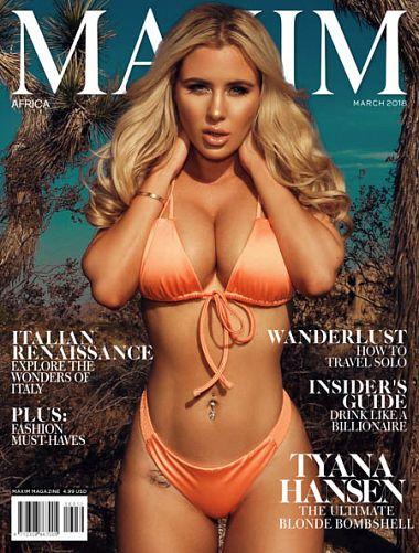 Maxim Africa – March 2018