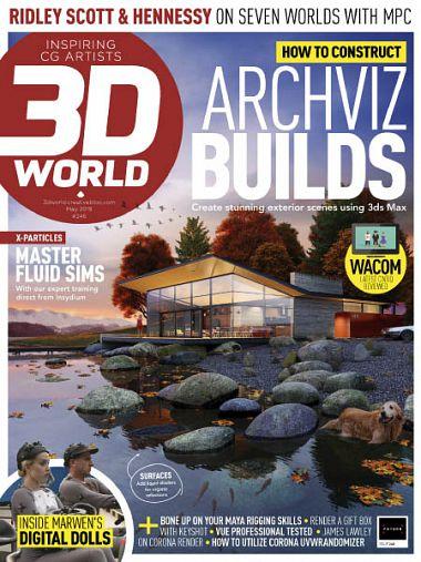 3D World UK – May 2019