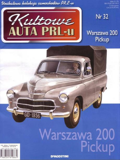 Kultowe Auta PRL-u - Warszawa 203 Pickup