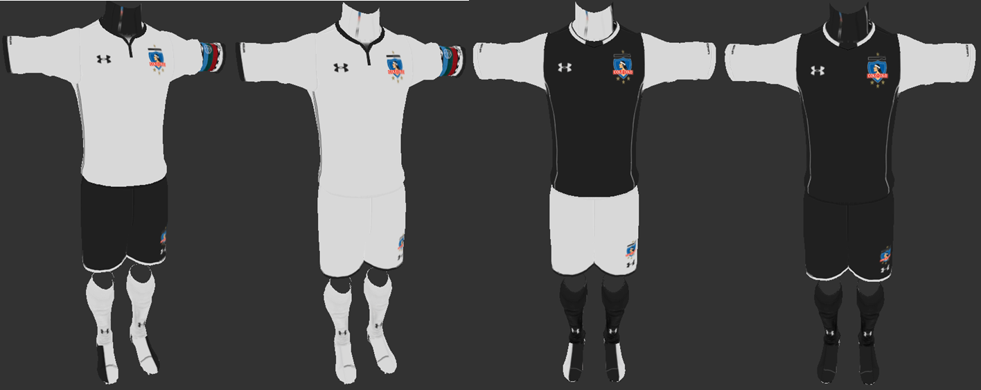 PES 2013 Colo-Colo 2018 Home & Away Kits BY ANTONELLI & WAHYUST