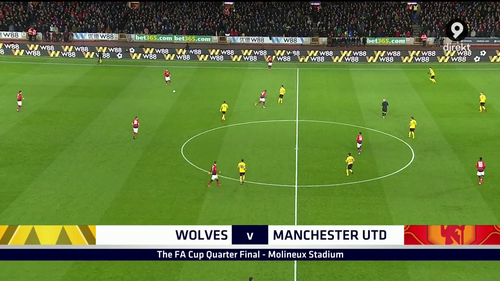 FÚTBOL:FA Cup 18/19 - Quarter Final - Wolverhampton vs
