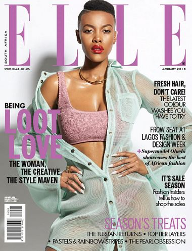 Elle South Africa – January 2018