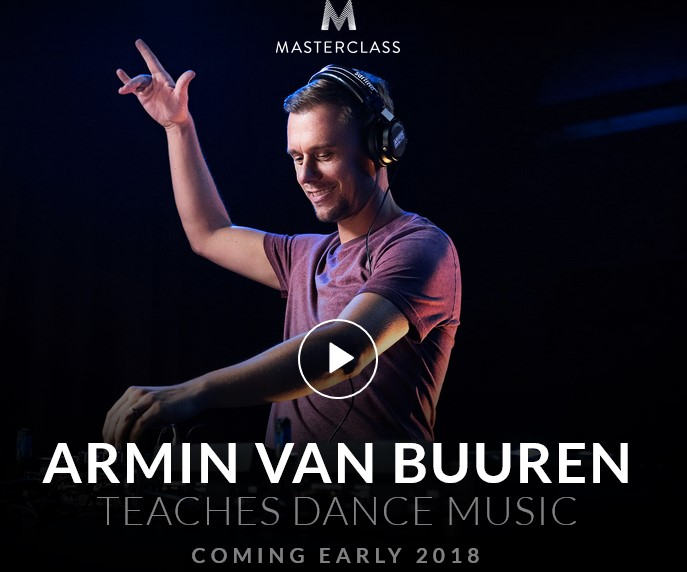 Masterclass - Armin van Buuren Teaches Dance Music(2018)