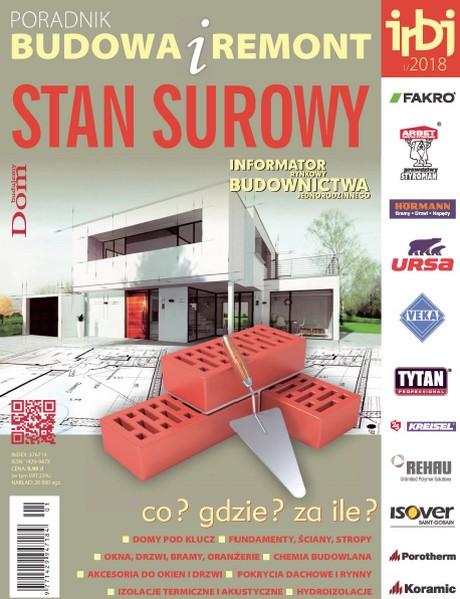 Informator Rynkowy Budownictwa Jednorodzinnego - Stan Surowy 2018