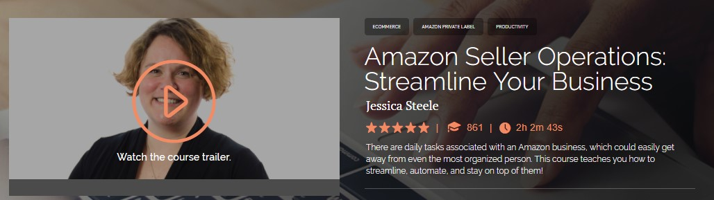 Jessica Steele - Amazon Seller Operations Streamline Your Business
