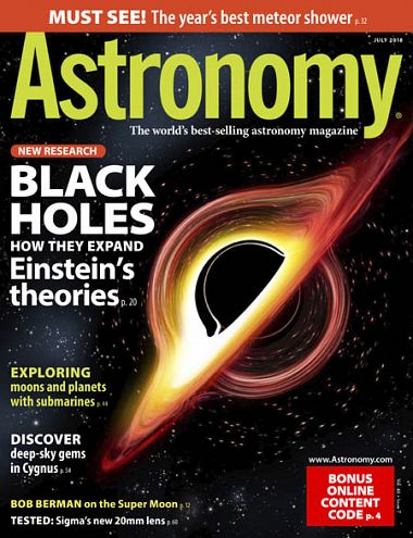 Astronomy – July 2018