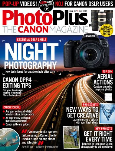 PhotoPlus: The Canon Magazine – April 2018