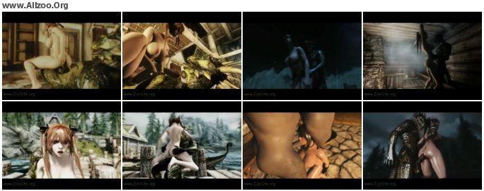 4d7dfc1093197204 - Bestiality Cartoon - Skyrim Dragon-Whore Compilation - Naughty Machinima 1 - Zoo Sex Anime Hentai