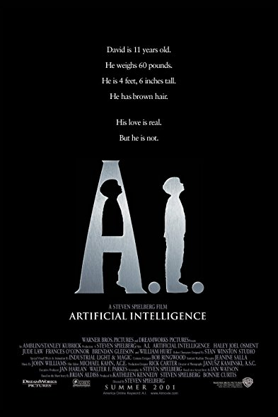 A I Artificial Intelligence 2001 BRRip XviD MP3-RARBG