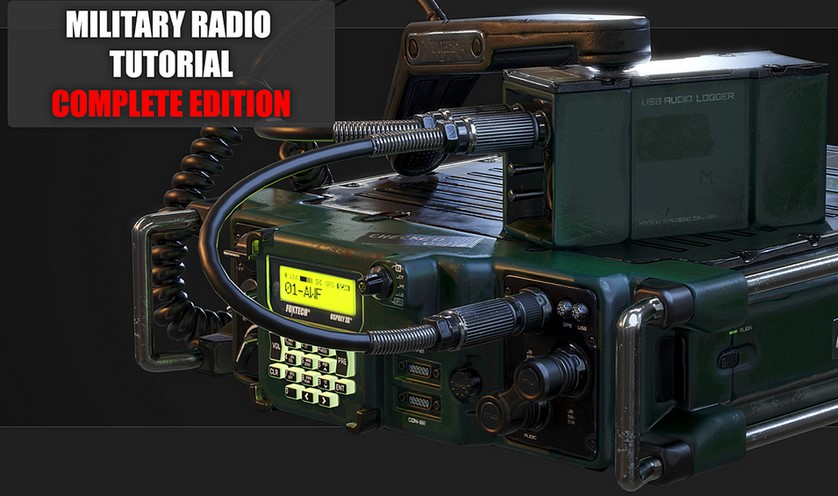 Gumroad Military Radio Tutorial Complete Edition