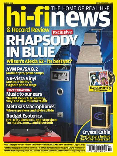 Hi-Fi News UK – March 2018