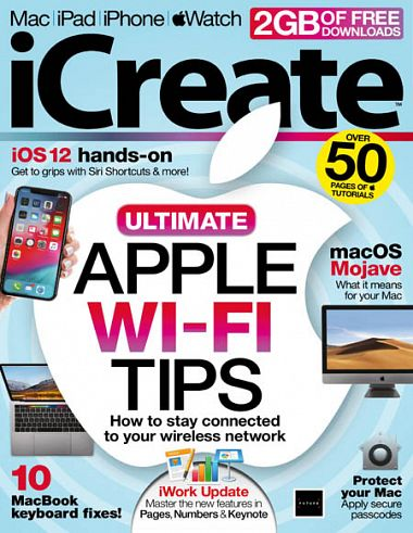 iCreate UK – Issue 188, 2018