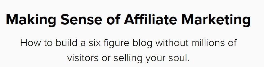 Making Sense of Affiliate Marketing - $197