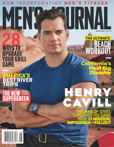 Men's Journal – August 2018