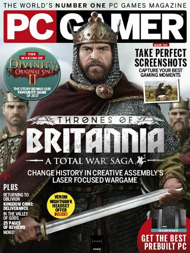 PC Gamer UK – April 2018