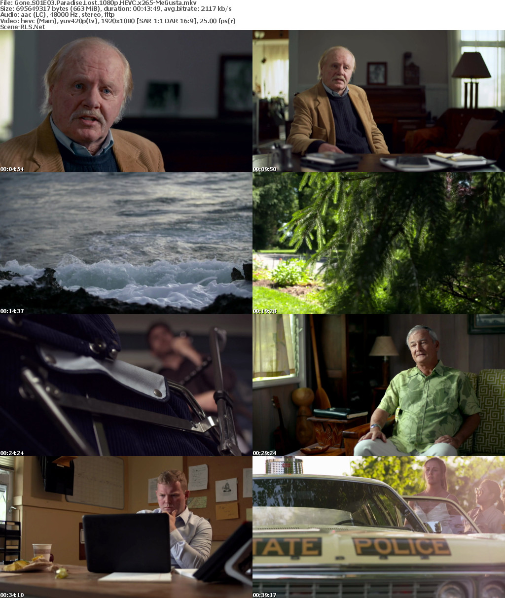 Gone S01E03 Paradise Lost 1080p WEB h264-EDHD - Scene Release