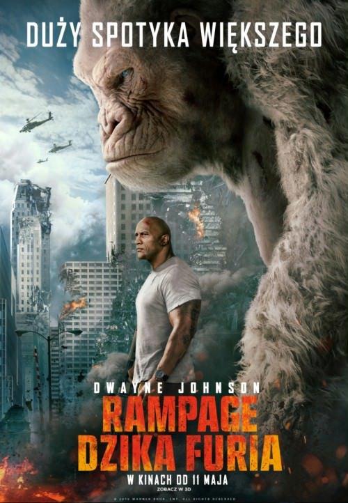 Rampage: Dzika furia / Rampage (2018) PL.720p.BDRip.DD5.1.Xvid-H3Q / Lektor PL