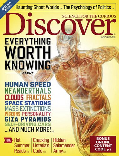 Discover – July 2018