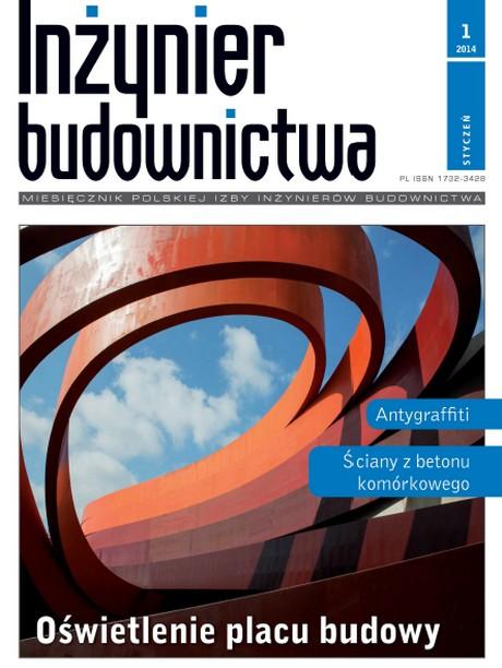 Inżynier Budownictwa 1/2014