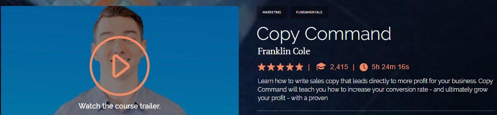 Franklin Cole - Copy Command