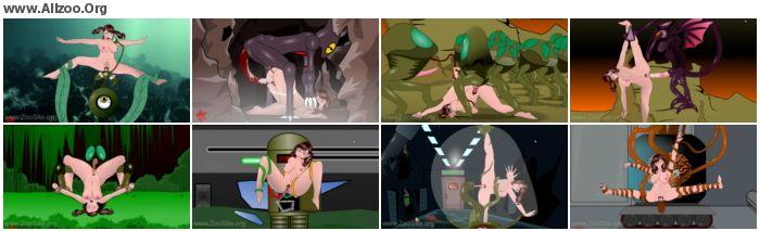 f88853952501434 - Cartoon Zoo - Game over girl - Animated Animal Porn