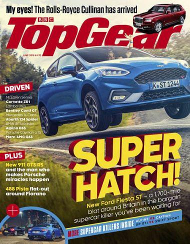 BBC Top Gear UK – June 2018