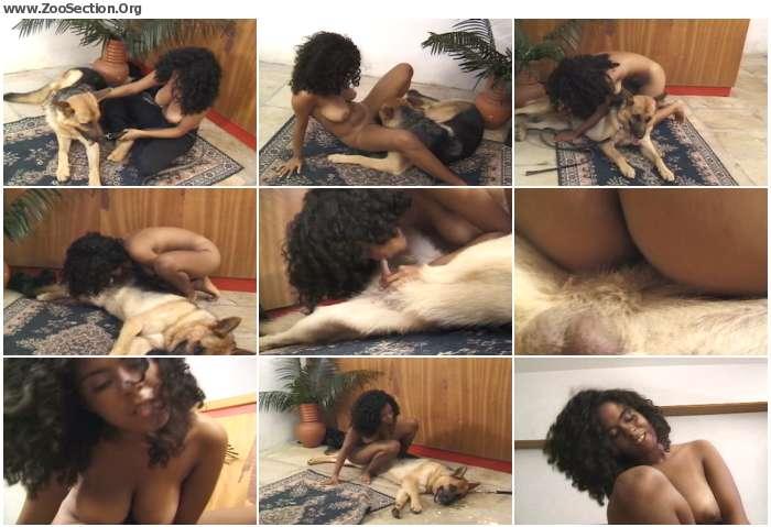 c70b521074199924 - Curly Haired Girl Fucks German Shepherd / PetSex SiteRip