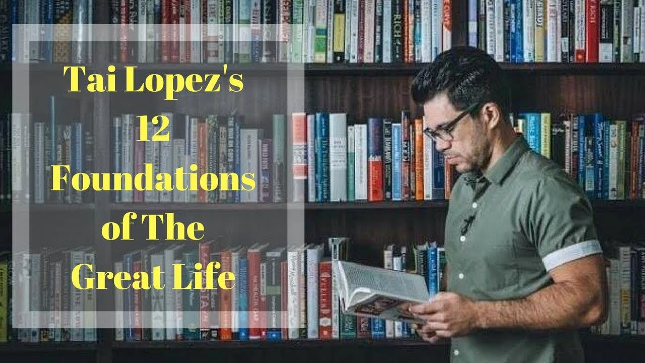 Tai Lopez - 12 Foundations(2018)