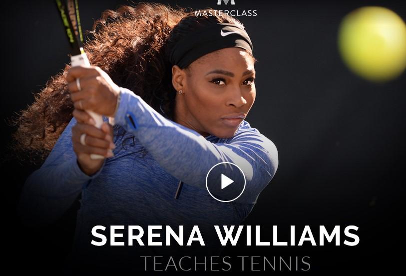 Serena Williams Teaches Tennis MasterClass