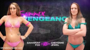Savannah Fox, Cheyenne Jewel - Savannah Fox vs Cheyenne Jewel (2018) 720p