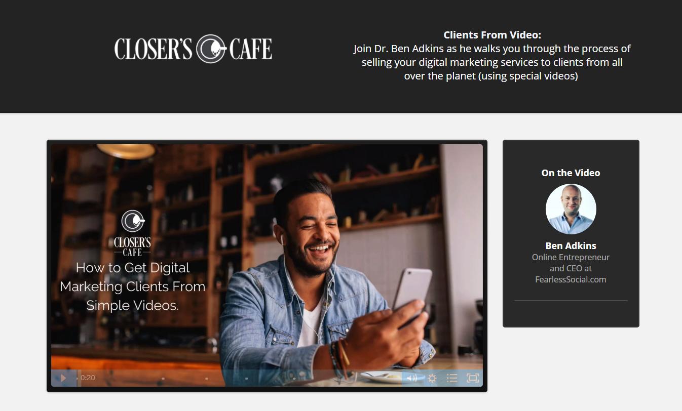Ben Adkins - Closer Cafe