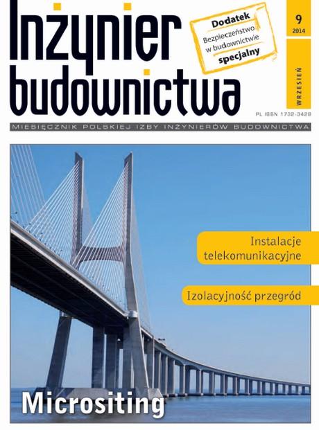 Inżynier Budownictwa 9/2014