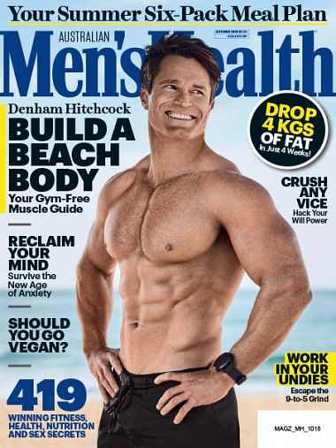 Men's Health Australia – October 2018