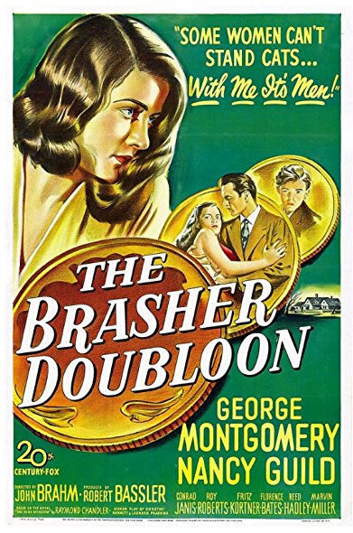 The Brasher Doubloon 1947 DVDRip XViD