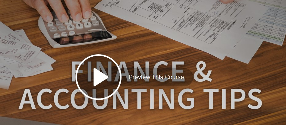 Finance and Accounting Tips Weekly