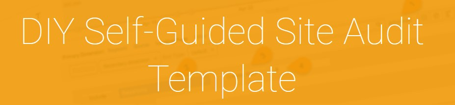 Annie Cushing - DIY Self-Guided Site Audit Template