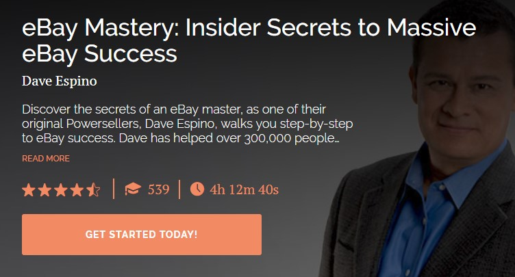 Dave Espino - eBay Mastery Insider Secrets to Massive eBay Success