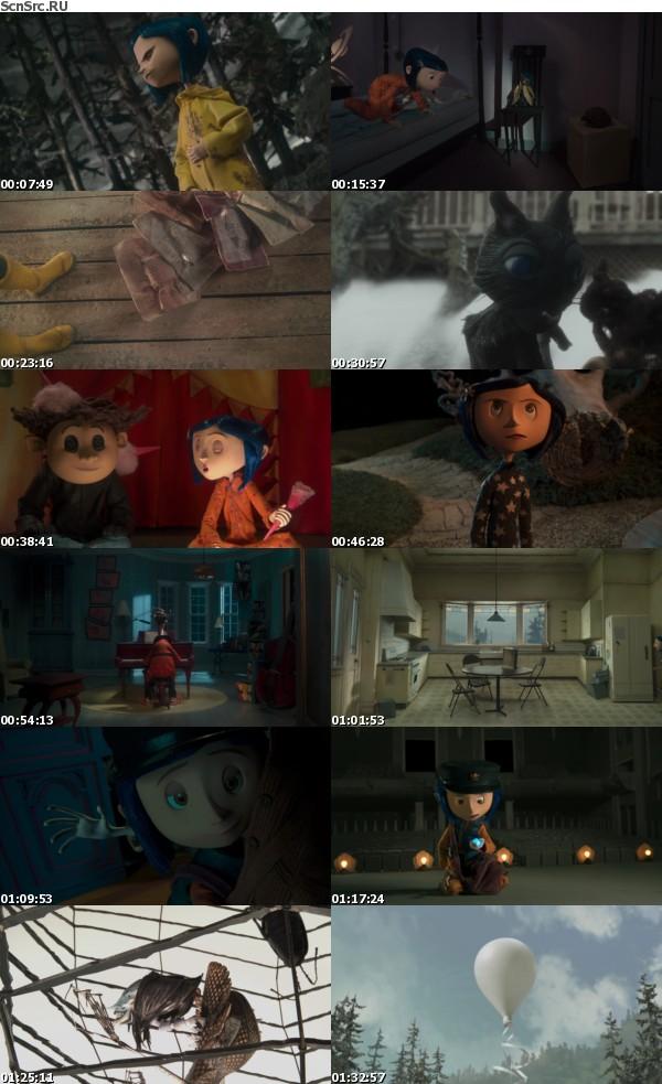 Coraline 2009 1080p BluRay DTS x264 D-Z0N3