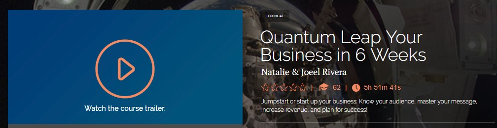 Natalie & Joeel Rivera - Quantum Leap Your Business in 6 Weeks