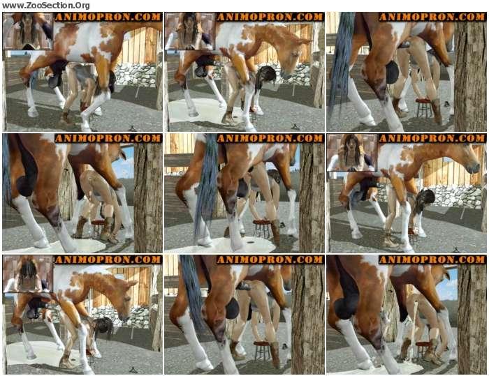 5cda341013043884 - Lara With Horse 2loops [Anime / Hentai]