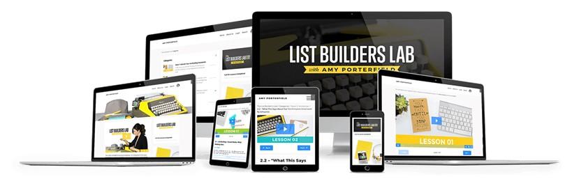 Amy Porterfield - List Builders Lab 2.0