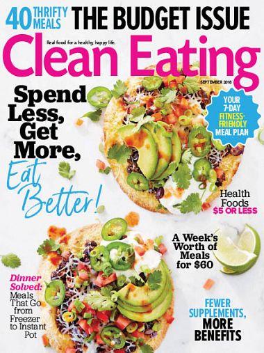 Clean Eating – September 2018