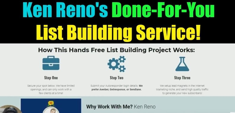 List Building System From Ken Reno